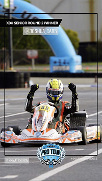LVP Paints Driver Joshua Car Wins 2nd Round of the Superkart USA Pro Tour